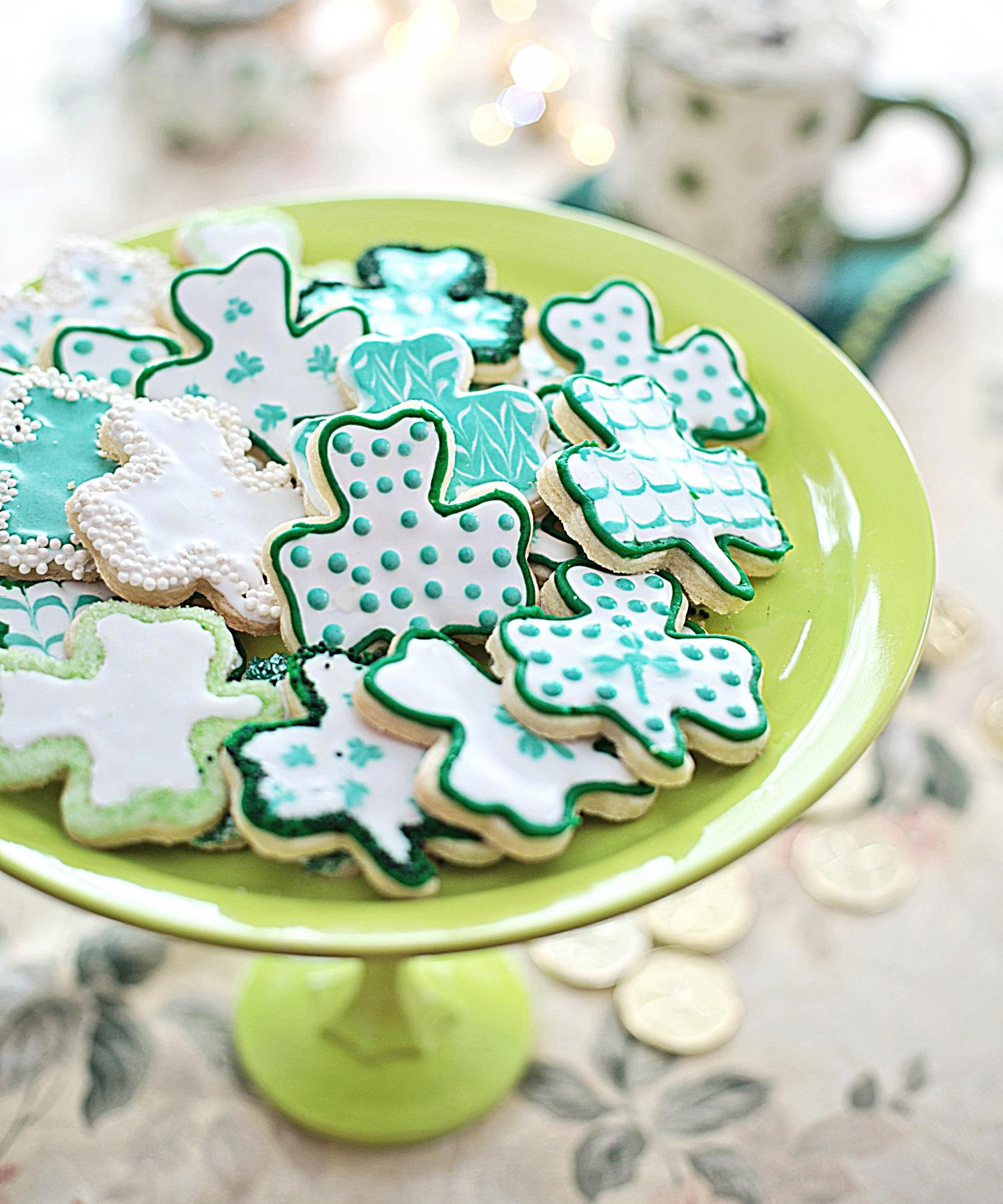 Winter_2021_shamrock cookies